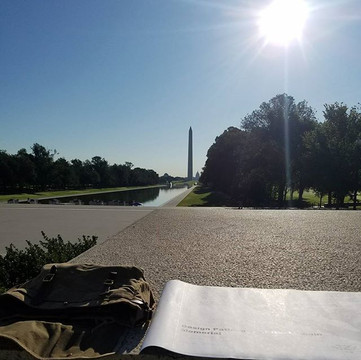 Lincoln Memorial Walkway Restoration