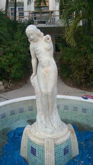 Cast Stone Fountain, Miami Beach, FL