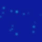 Blue Bubbles Blurred
