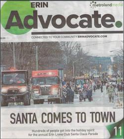 Advocate December 1 2017 Santa Claus Parade - 1