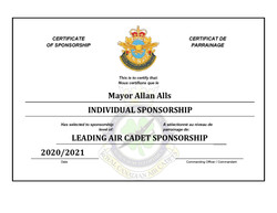 Sponsorship Certificate - Allan Alls-pag