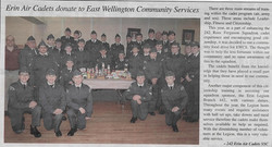 2013 Cadets donate to EWCS