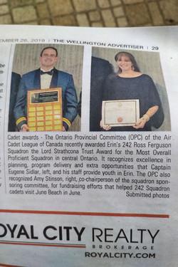 Cadet Awards