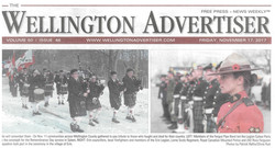 Wellington Advertiser - Remembrance Day 2017