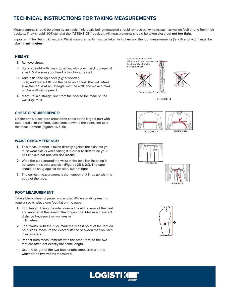 Measuring instructions_Cadet_FTU_parents