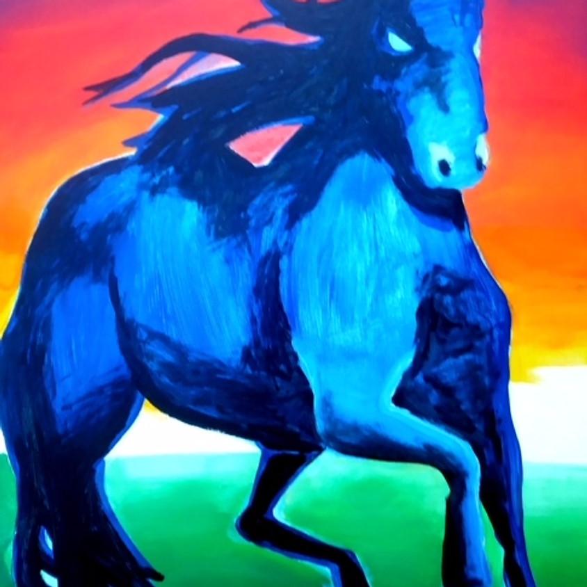 Stallion Horse 3pm