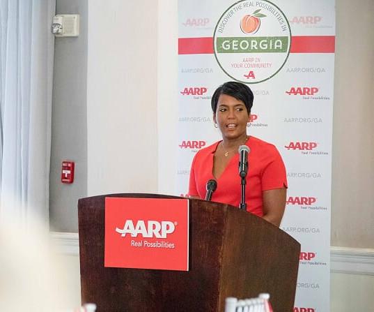 Mayor Keisha Bottom AARP Lucnheon.jpg
