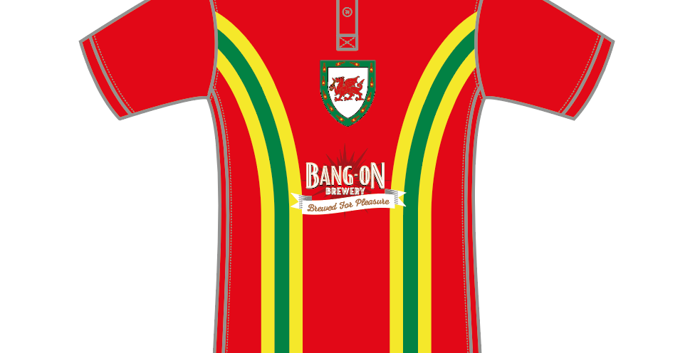 Retro Wales Football Shirt