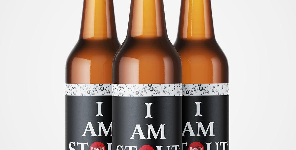 I Am Stout - Craft Stout 4% ABV (500ml)