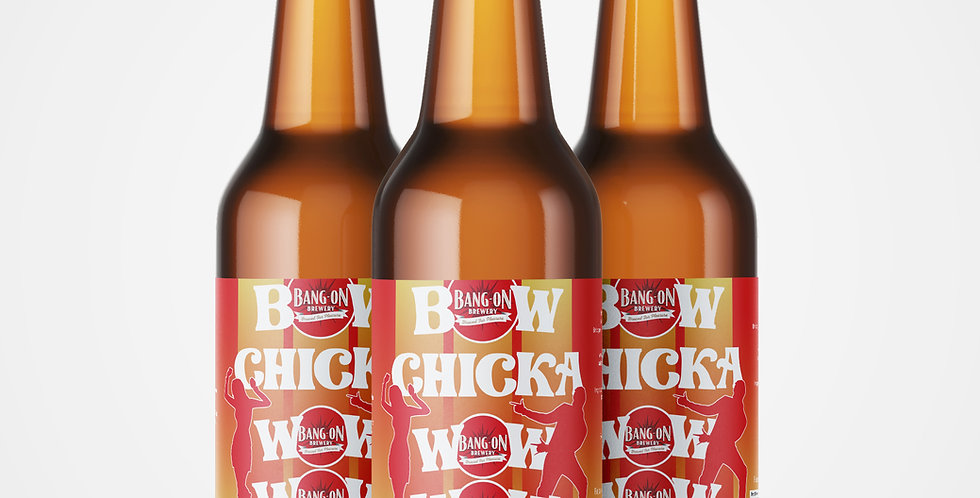 Bow Chicka Wow Wow - American Pale Ale 4.3% ABV (500ml)