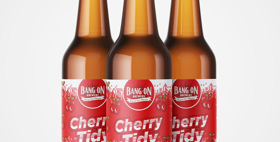 Cherry Tidy - Craft Lager 4% ABV (500ml)