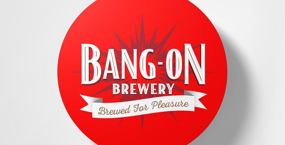 Bang-On Brewery Coaster