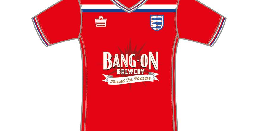 Retro England Football Shirt