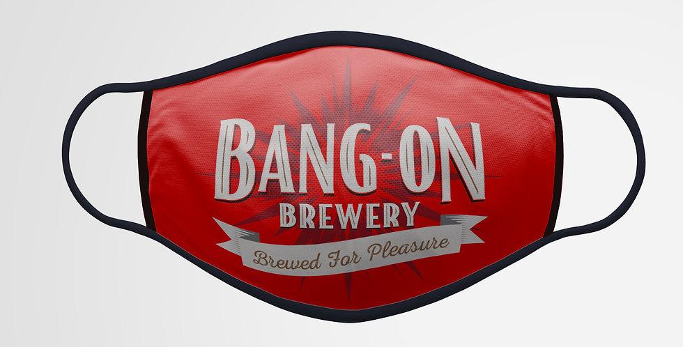 Bang-On Brewery Facemask