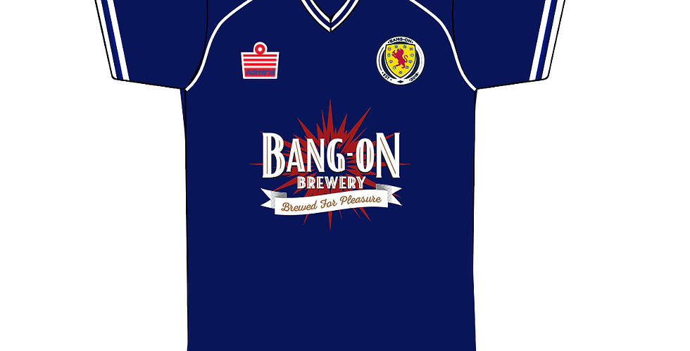 Retro Scotland Football Shirt