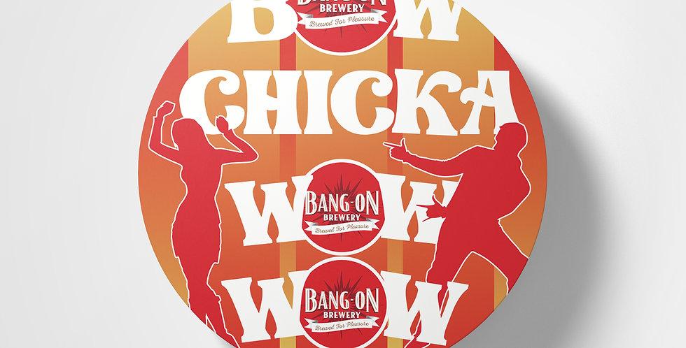 Bow Chicka Coaster