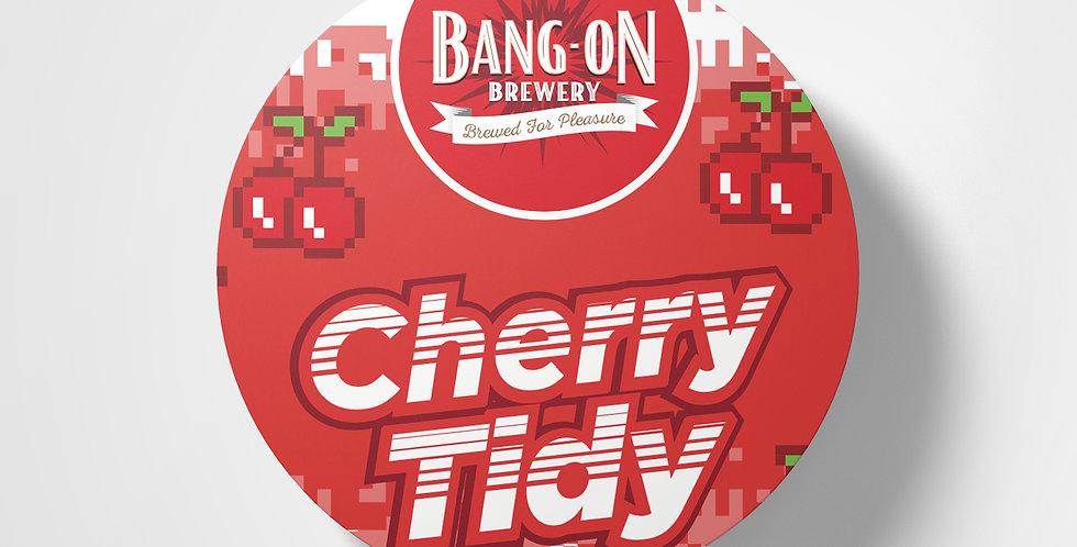 Cherry Tidy Coaster