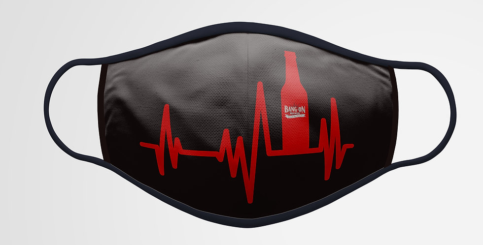 HeartBeer Facemask