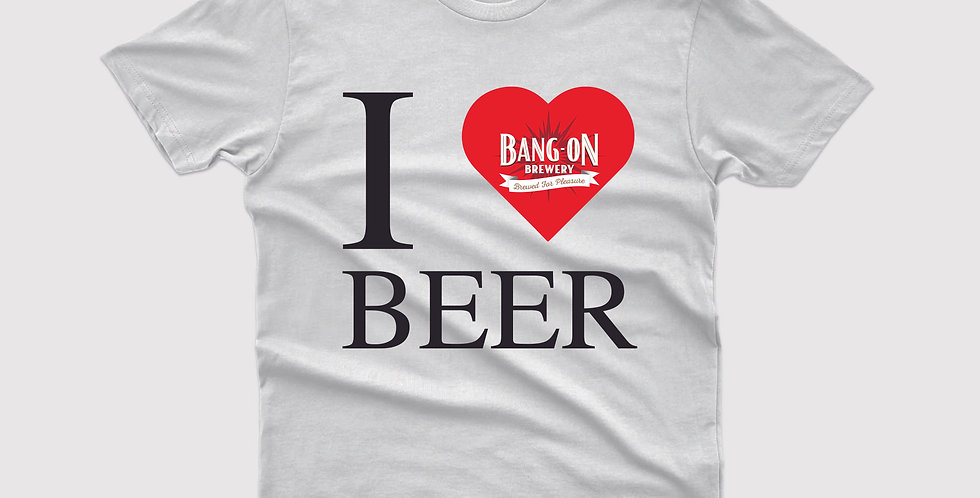 I Love Beer Tee