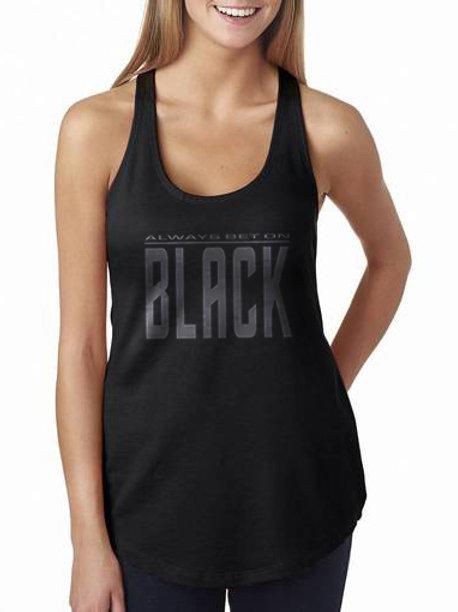 Always Bet on Black Women's Racerback Tank Top