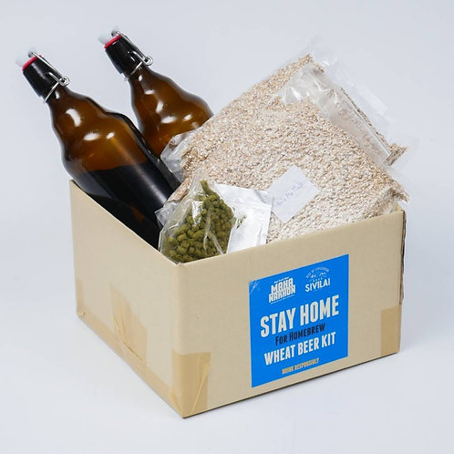 Mahanakhon Beer Wheat Beer Brew at Home Kit