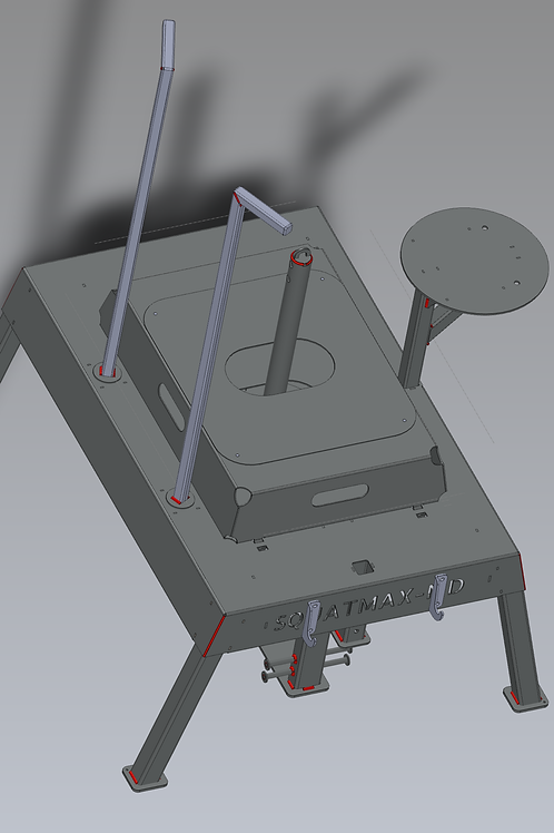 Squatmax Belt Squat System (with Built-in Seat)