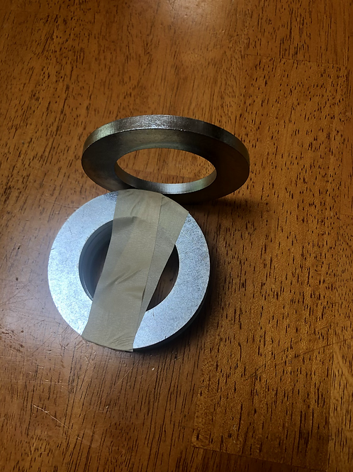Optional Plate spacers (set of 5) incls $9 shipping