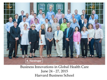 A Framework for Innovation in Healthcare: An Interview with Professor Regina Herzlinger, the first w