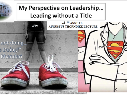 Leadership without a Title