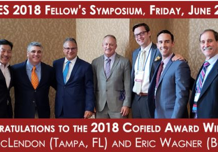 Congratulations to BSI Fellow Dr. Eric Wagner, Winner of the Cofield Award