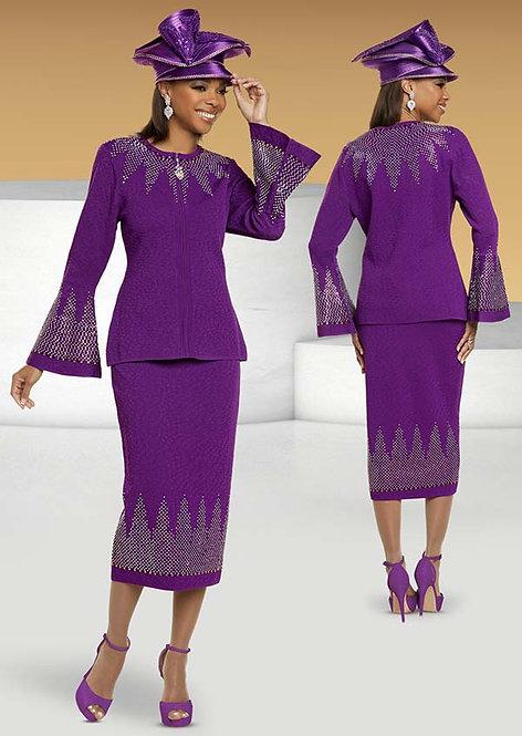 11305  - 2pc Jacket & Skirt Set