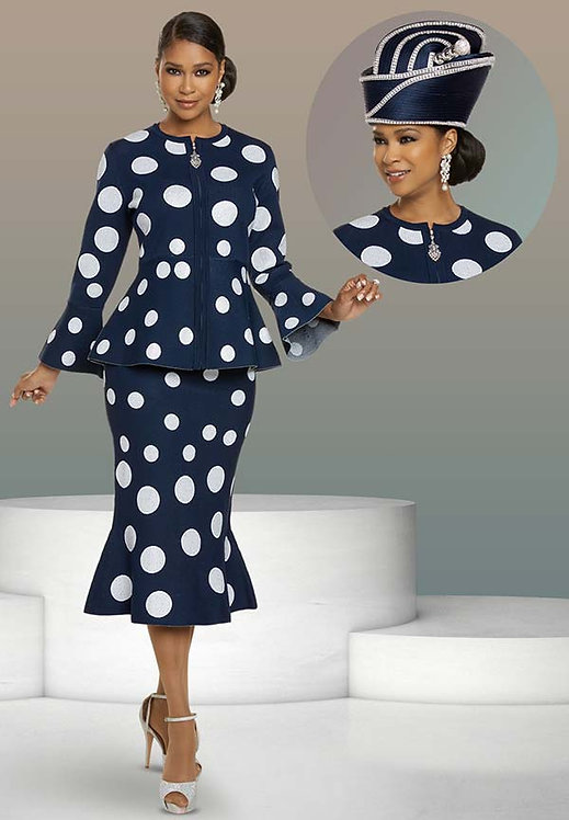 13304 - 2pc Jacket & Skirt Set