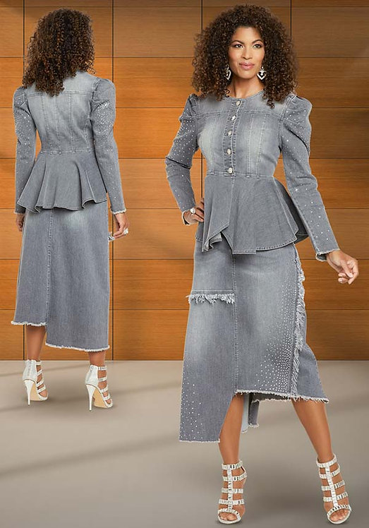 8440 - 2pc Jacket & Skirt Set