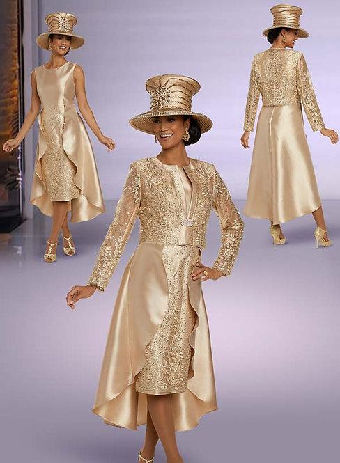 5698 - 2pc Dress & Jacket Set