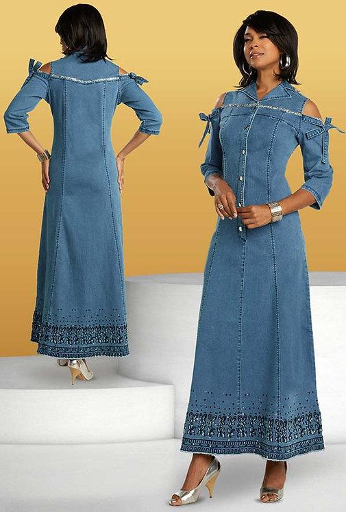 8435 - 1pc Dress