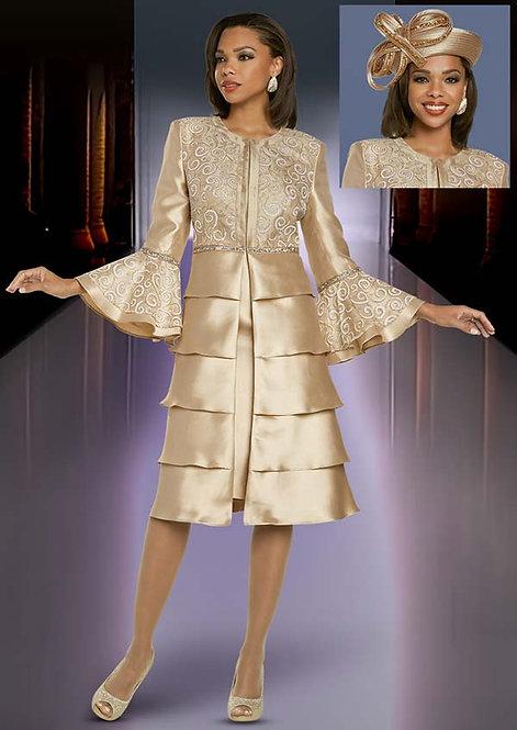 11876 - 2pc Dress & Jacket Set
