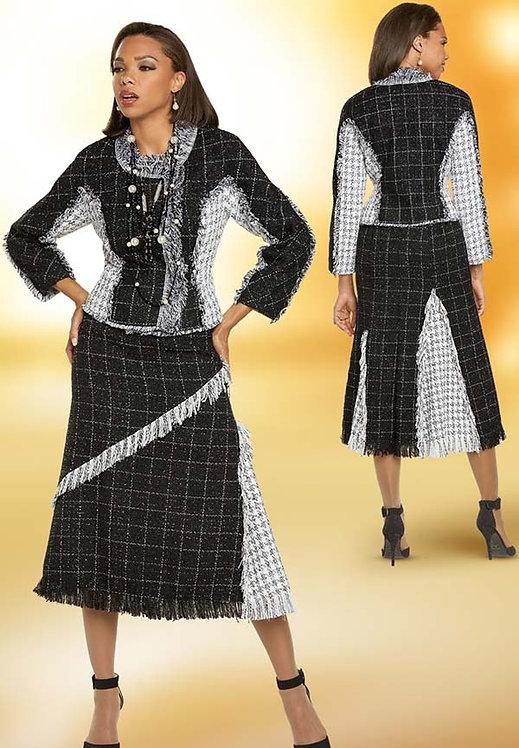 5711 - 2pc Jacket & Skirt Set