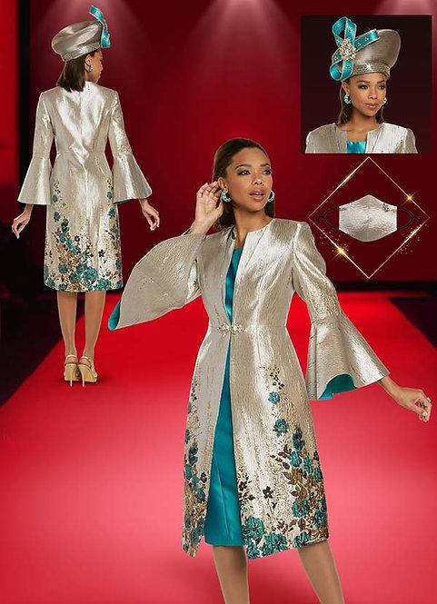 5714 - 2pc Dress & Jacket Set