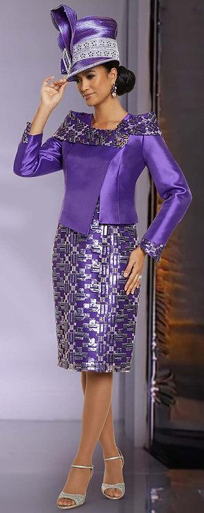 5707 - 2pc Dress & Jacket Set