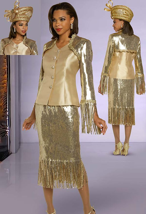 5703 - 2pc Jacket & Skirt Set