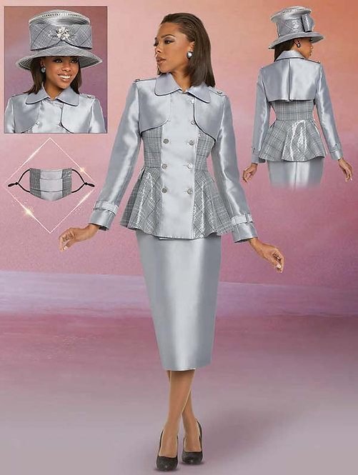 11892 - 2pc Jacket & Skirt Set