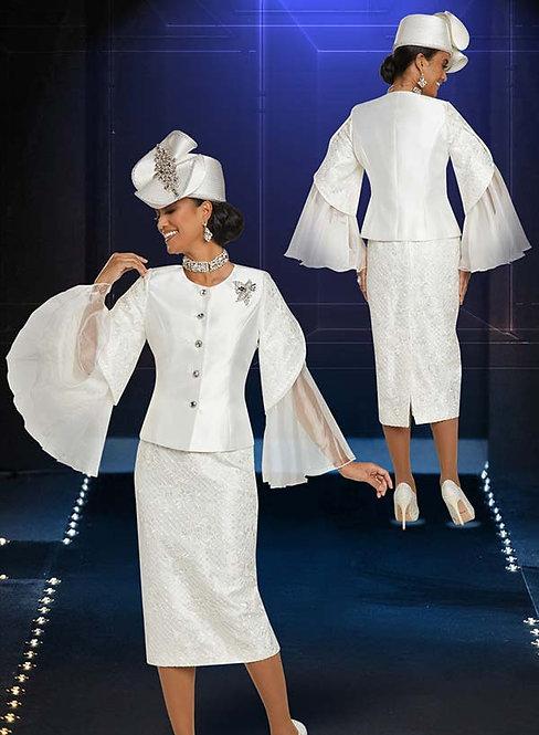 11883 - 2pc Jacket & Skirt Set