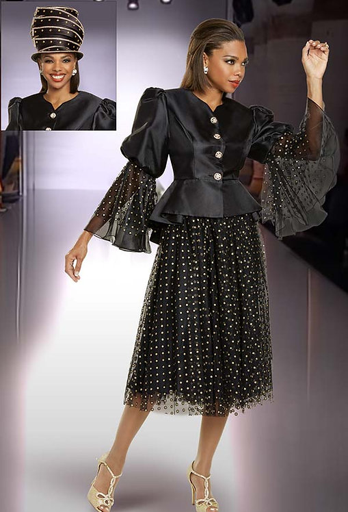 11887 - 2pc Jacket & Skirt Set