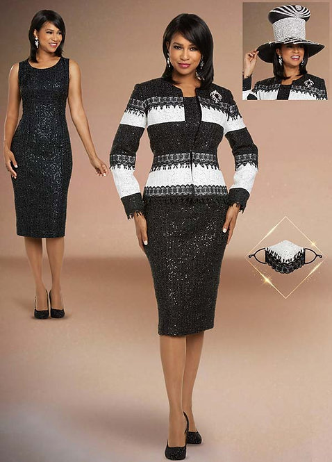 5713 - 2pc Dress & Jacket Set