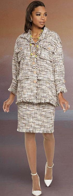 5709 - 2pc Jacket & Skirt Set