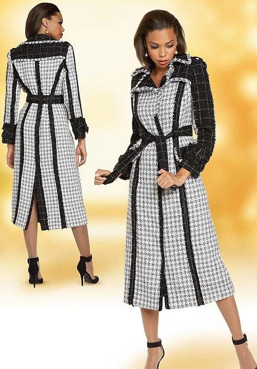 5712 - 1pc Coat/Coat Dress