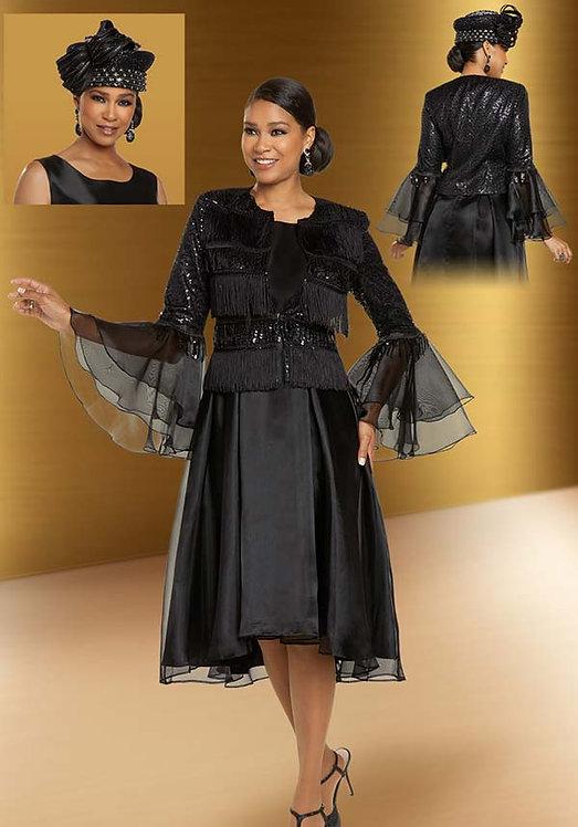 11878 - 2pc Dress & Jacket Set