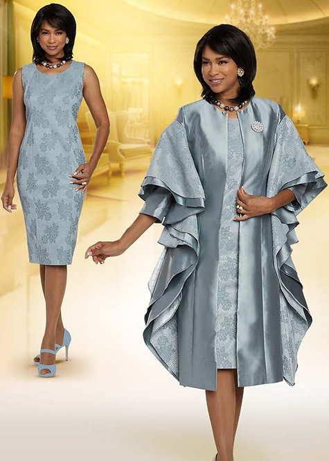 5715 - 2pc Dress & Jacket Set