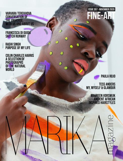 MARIKA MAGAZINE ISSUE 357 -  FINE-ART-1.
