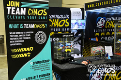 CHAOS EVENTS BOOTH